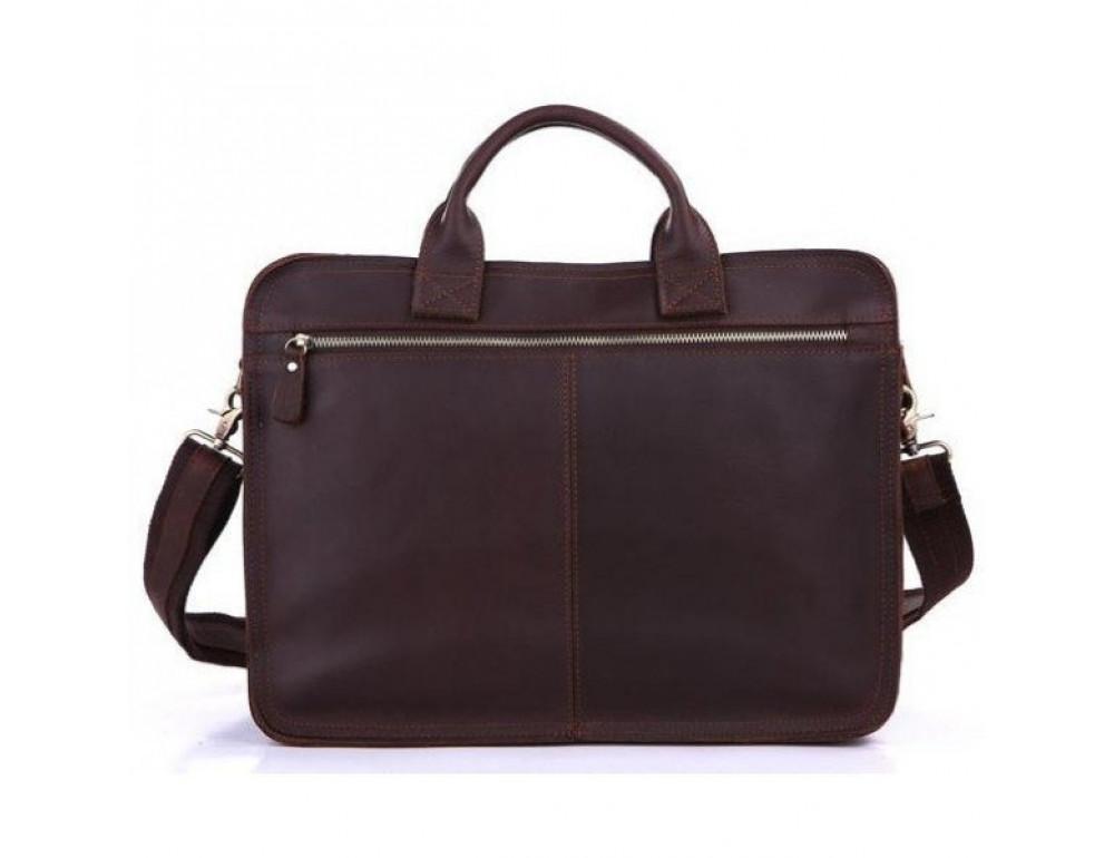 Мужская кожаная сумка TIDING BAG 6020 - Фото № 2