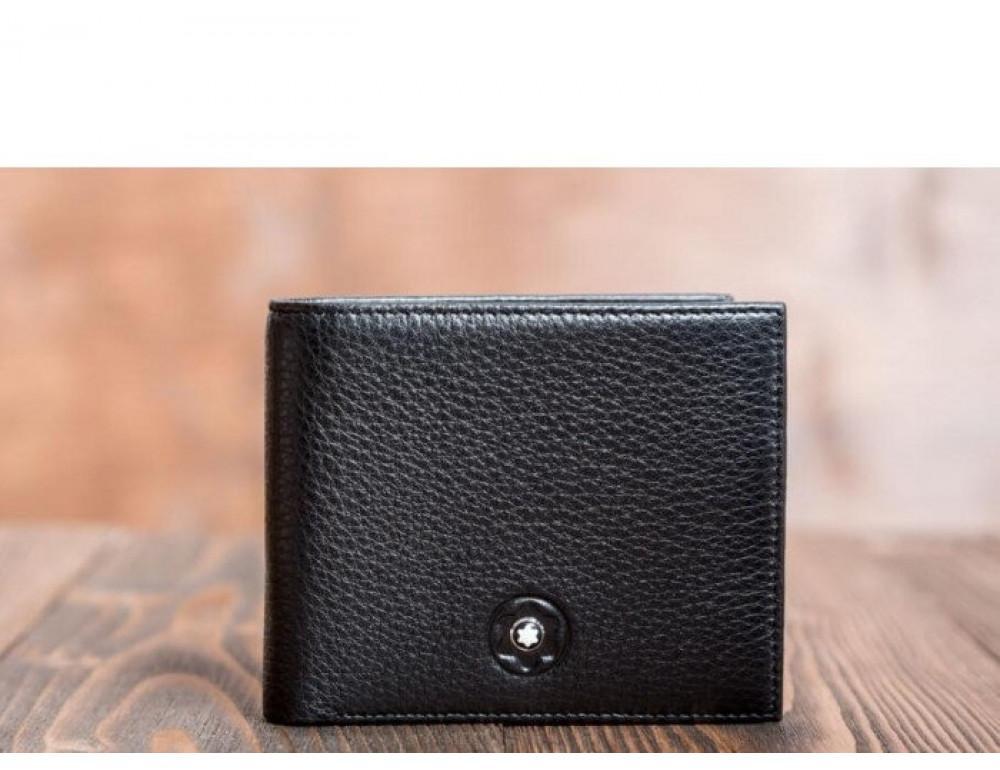 Мужской кожаный портмоне Montblanc MOH-1785