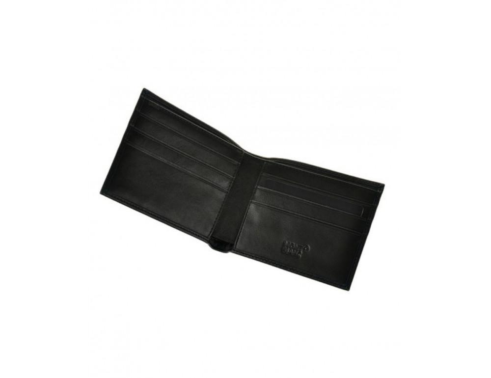 Чоловічий шкіряний портмоне Montblanc MO-015-1 - Фотографія № 3