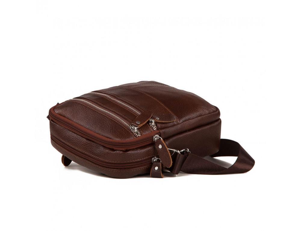 Мужская сумка-мессенджер из кожи TIDING BAG M38-3923C - Фото № 4