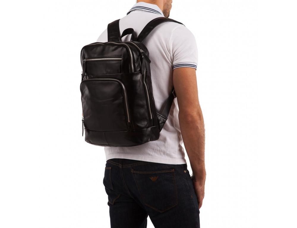 Кожаный городской рюкзак TIDING BAG t3174 - Фото № 2