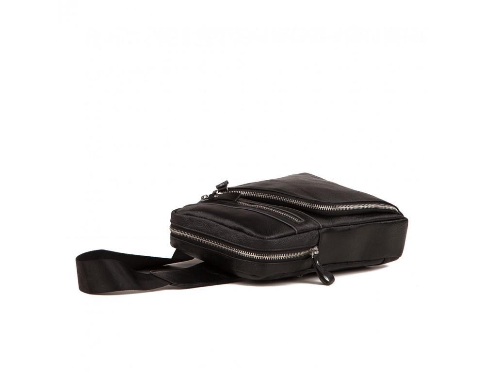 Мужской кожаный мессенджер TIDING BAG A25-6896A - Фото № 5