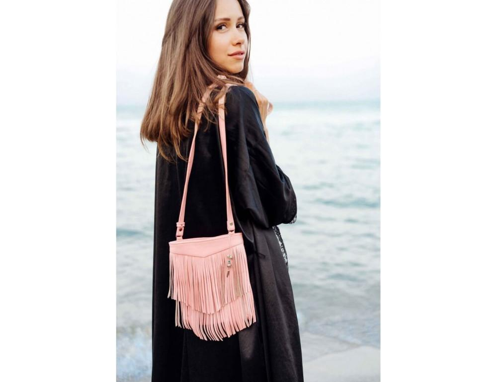 Жіноча міні сумка Blanknote BN-BAG-16-barbi - Фотографія № 4