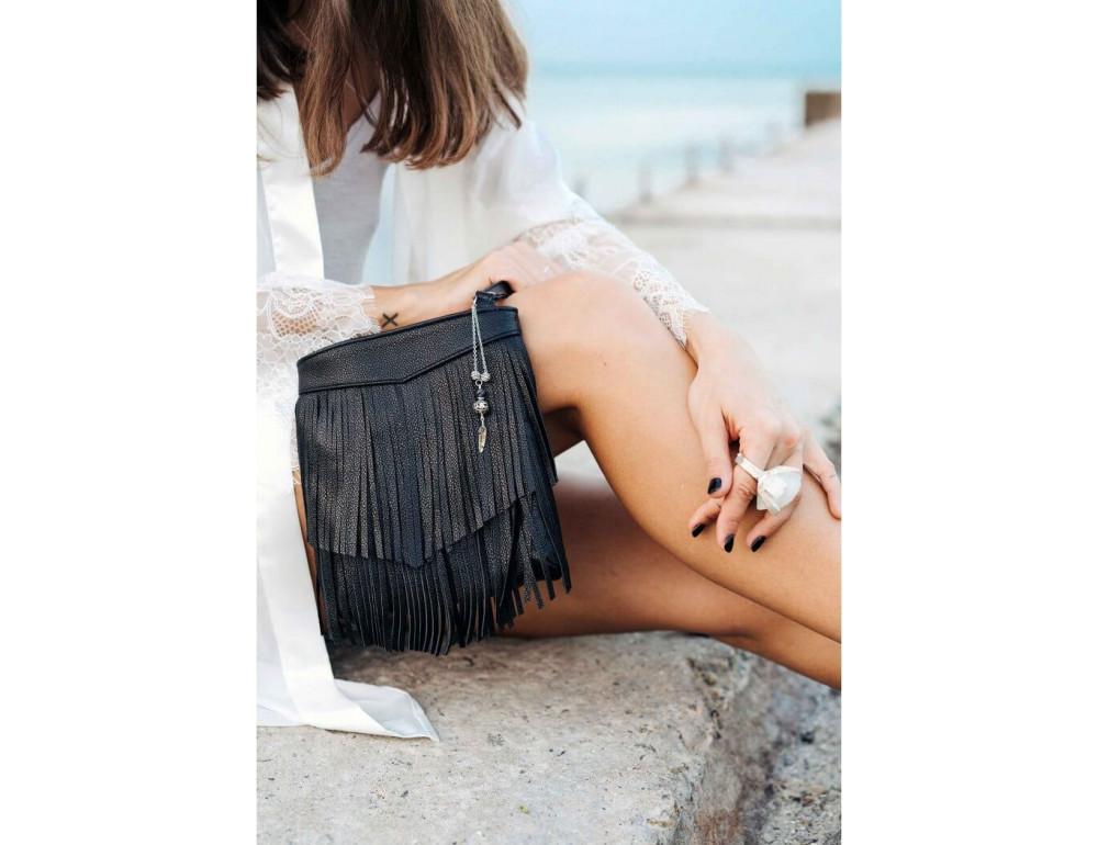Женская мини сумка Blanknote BN-BAG-16-onyx