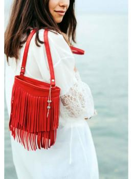 Женская мини сумка Blanknote BN-BAG-16-rubin
