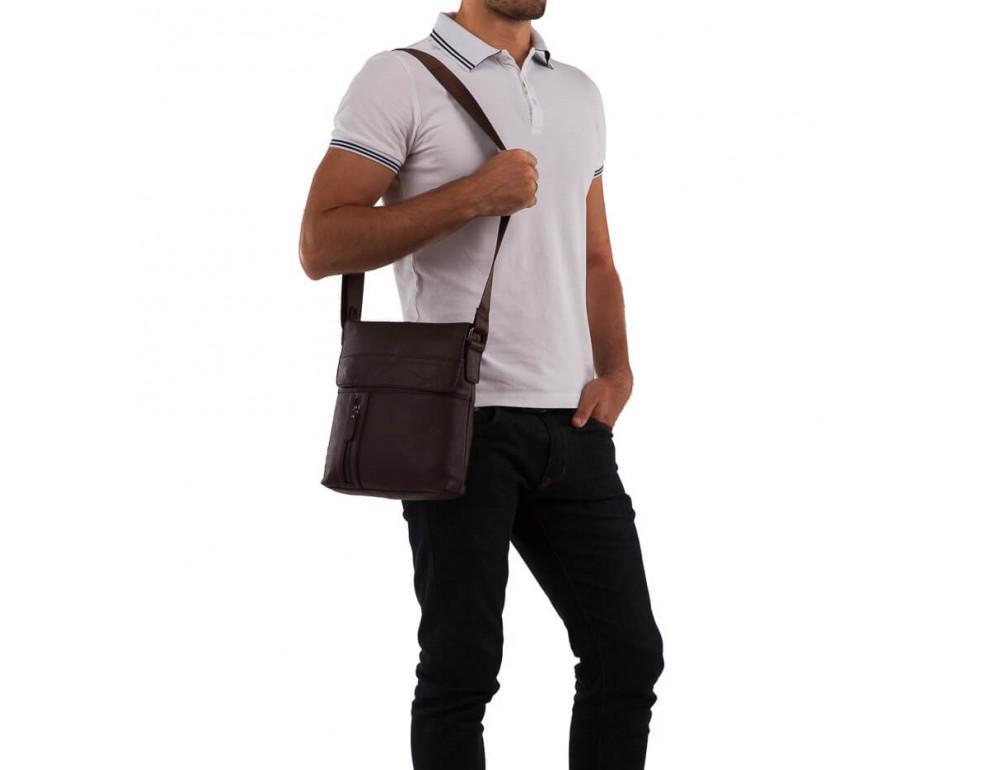 Чоловічий шкіряний месенджер TIDING BAG M38-1713C - Фотографія № 2
