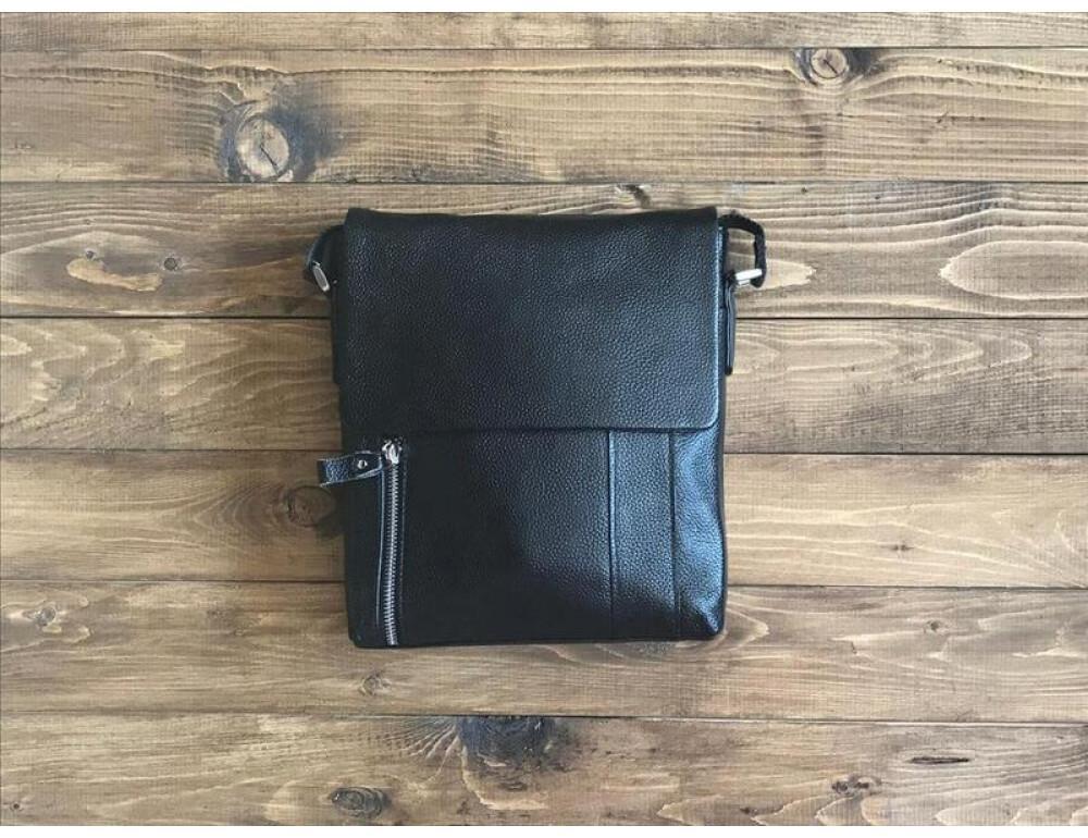 Мужская кожаная сумка мессенджер TIDING BAG M1001-1A - Фото № 2