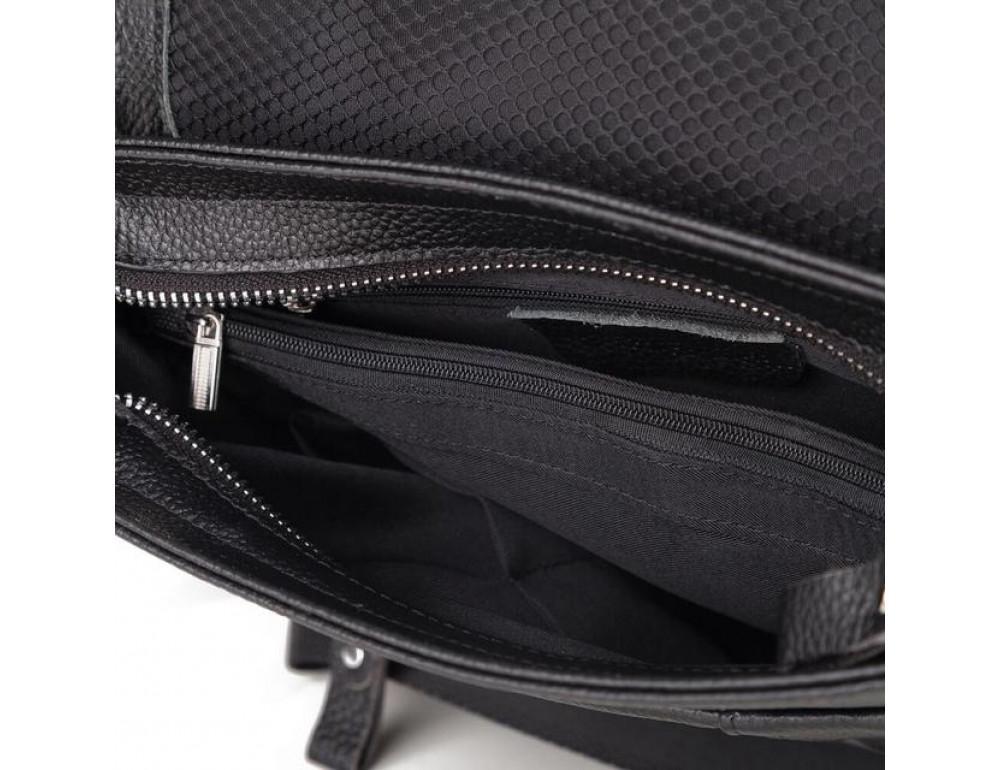 Мужская кожаная сумка мессенджер TIDING BAG M1001-1A - Фото № 4