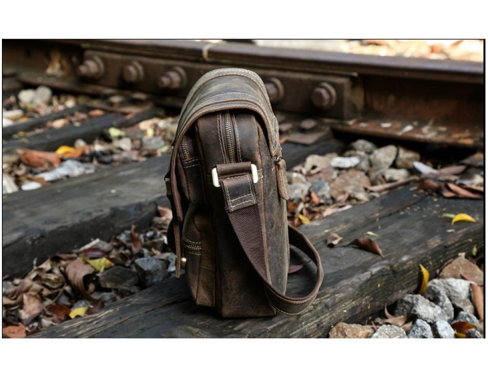 Мужской кожаный мессенджер TIDING BAG T1172 - Фото № 2