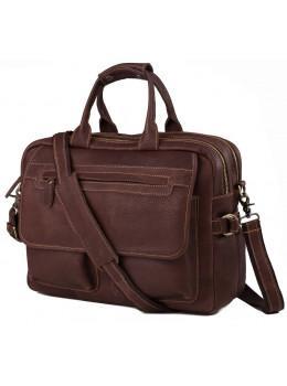 Мужская кожаная сумка TIDING BAG T29523B