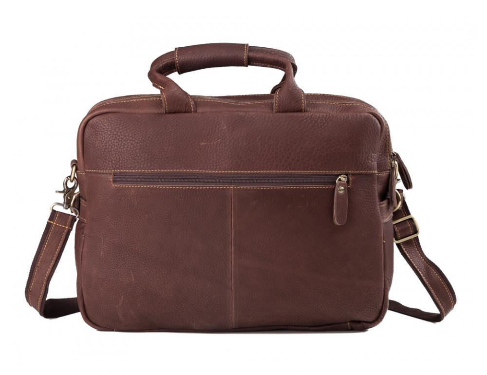 Мужская кожаная сумка TIDING BAG T29523B - Фото № 3