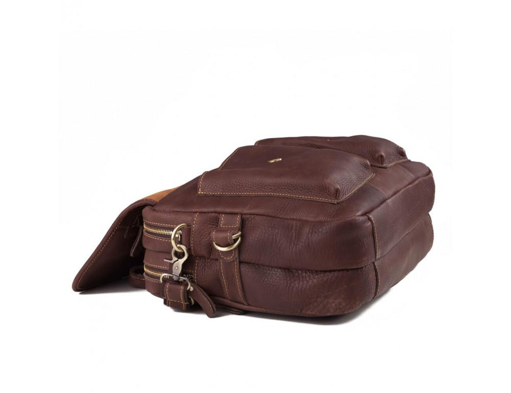 Мужская кожаная сумка TIDING BAG T29523B - Фото № 4