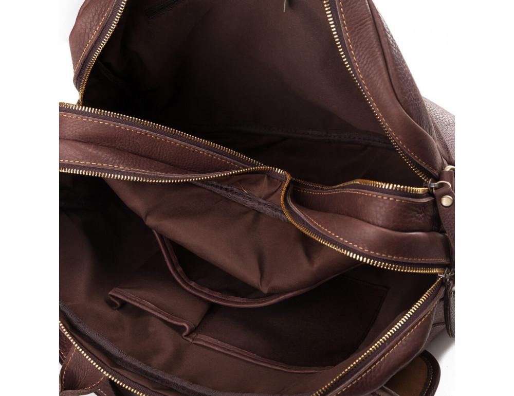 Мужская кожаная сумка TIDING BAG T29523B - Фото № 6