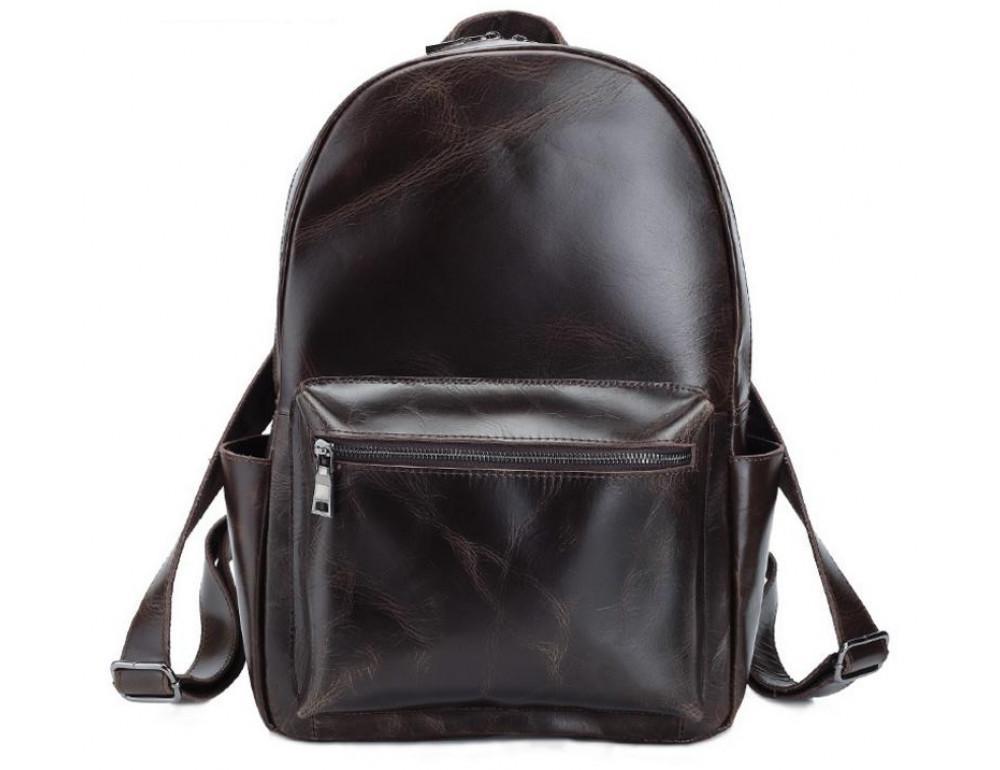 Мужской кожаный рюкзак TIDING BAG T3158 - Фото № 7