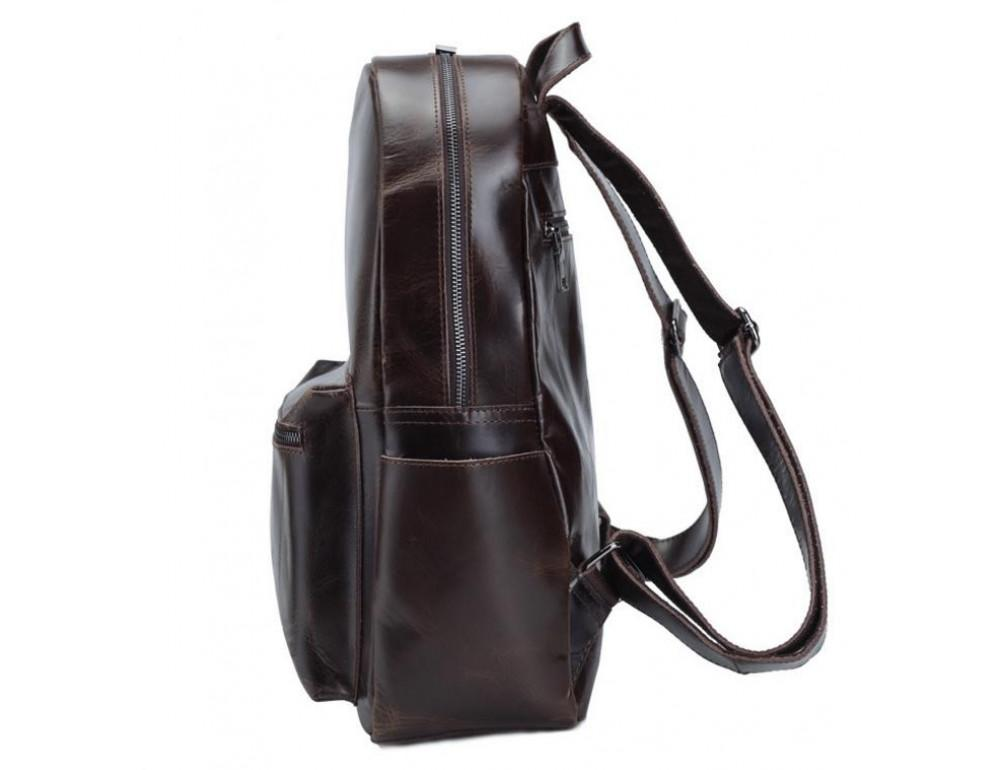 Мужской кожаный рюкзак TIDING BAG T3158 - Фото № 8