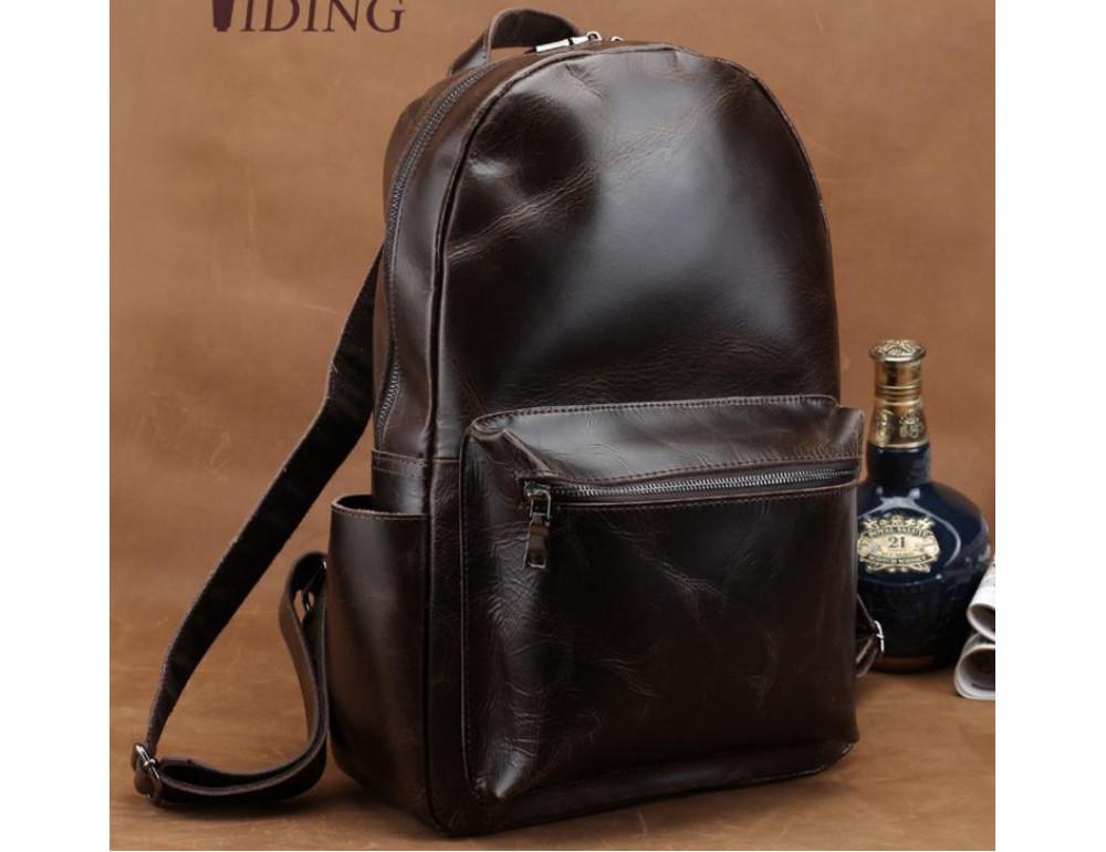 Мужской кожаный рюкзак TIDING BAG T3158 - Фото № 4
