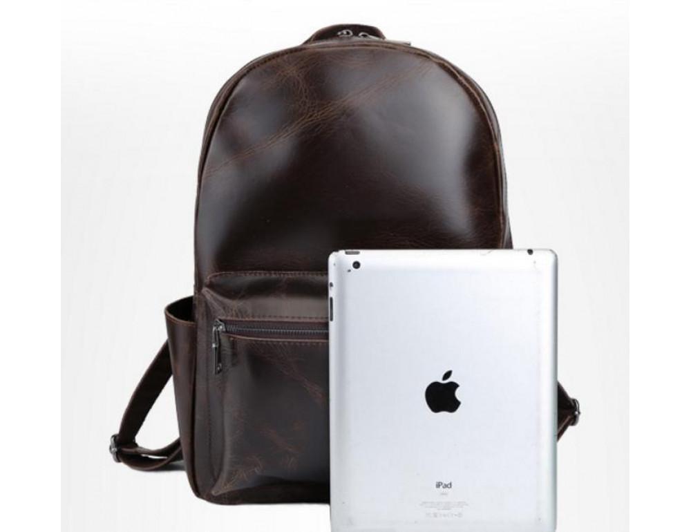 Мужской кожаный рюкзак TIDING BAG T3158 - Фото № 5