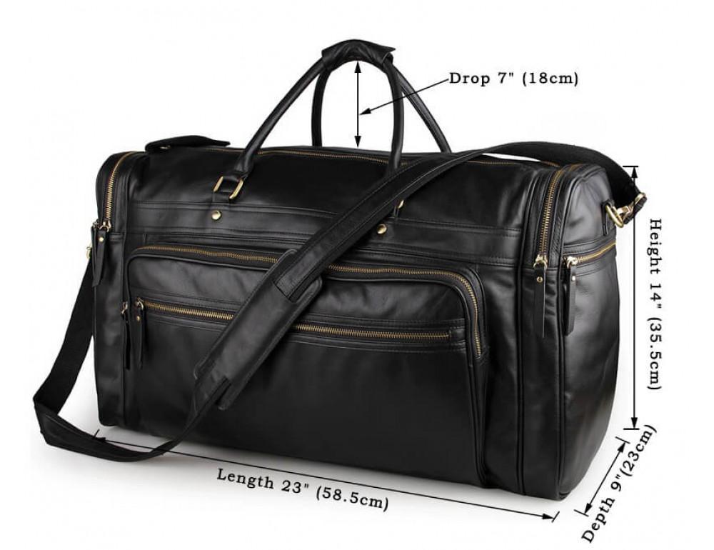 Мужская дорожная сумка JASPER&MAINE 7317-1A - Фото № 6