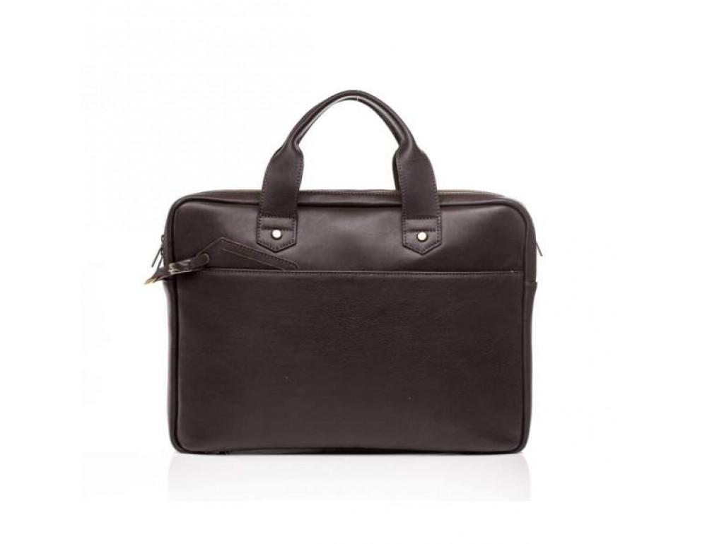 Мужской кожаный портфель Blamont Bn012C - Фото № 5