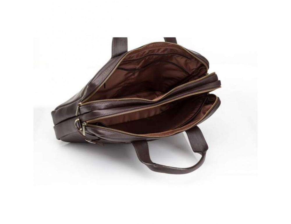 Мужской кожаный портфель Blamont Bn012C - Фото № 6