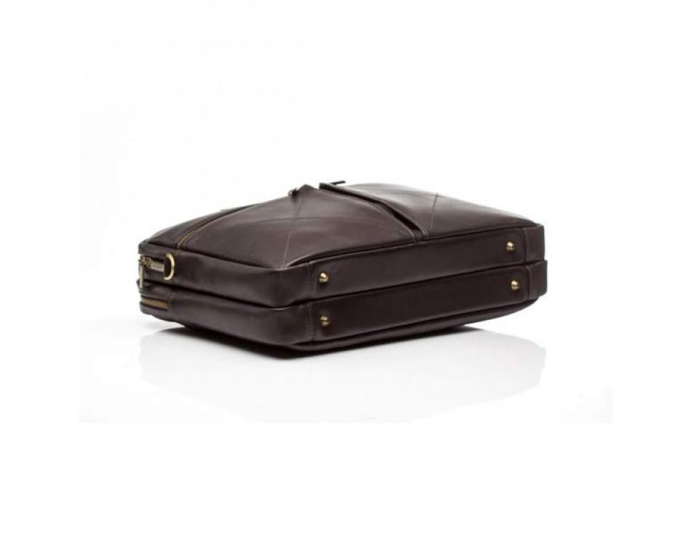 Мужской кожаный портфель Blamont Bn012C - Фото № 7