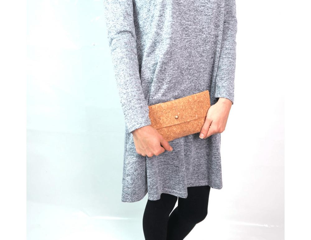 Женский кошелёк из пробкового дерева Mb cork BAG-139 - Фото № 2