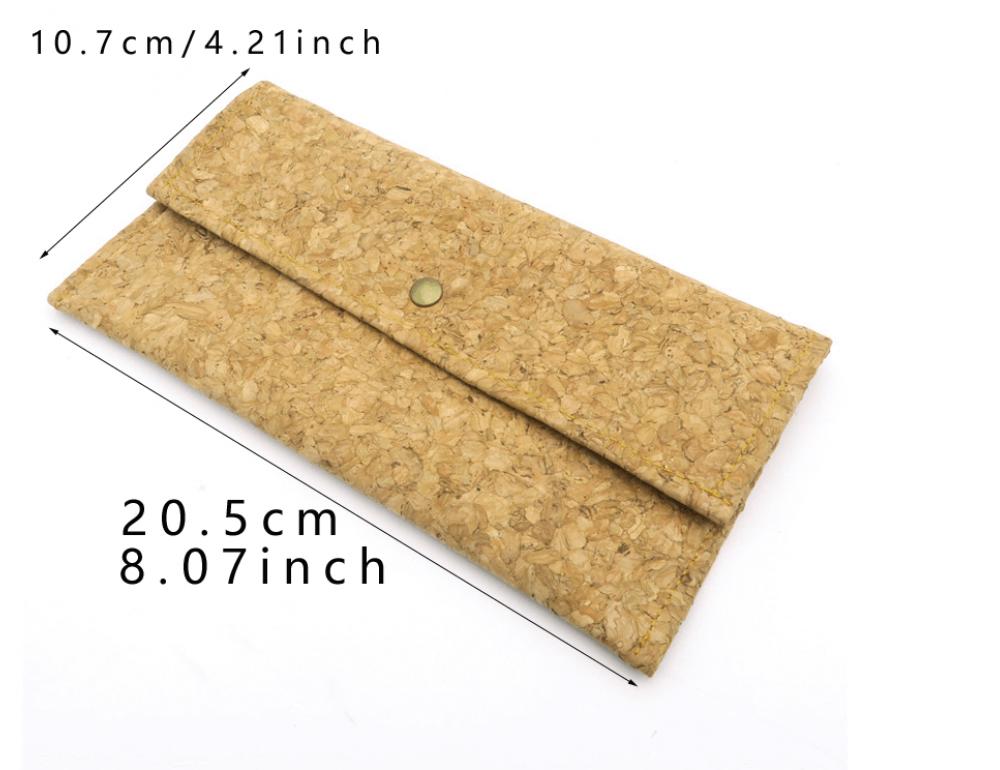 Женский кошелёк из пробкового дерева Mb cork BAG-139 - Фото № 4