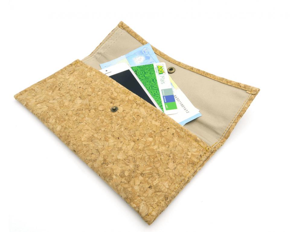 Женский кошелёк из пробкового дерева Mb cork BAG-139 - Фото № 6