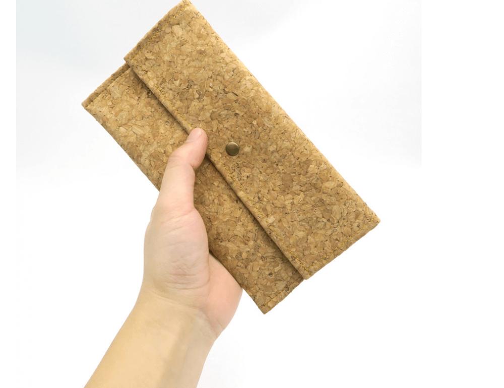 Женский кошелёк из пробкового дерева Mb cork BAG-139 - Фото № 7