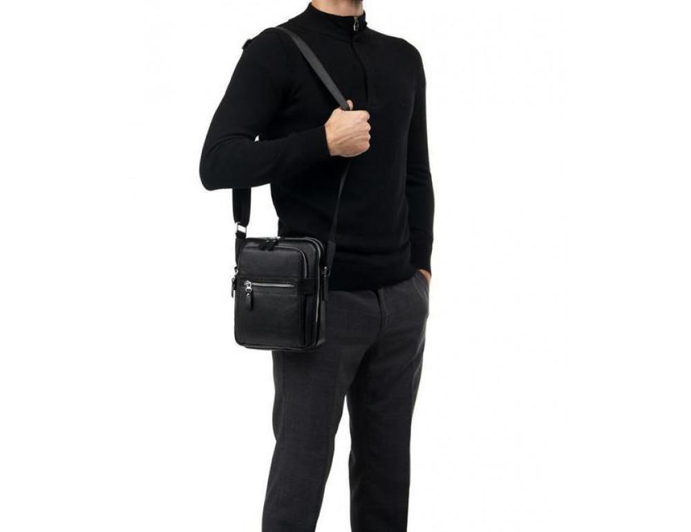Мужской кожаный мессенджер TIDING BAG M5610A - Фото № 4