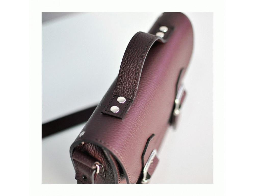 Жіноча шкіряна сумочка JIZUZ SATCHEL MINI S23205GR - Фотографія № 2