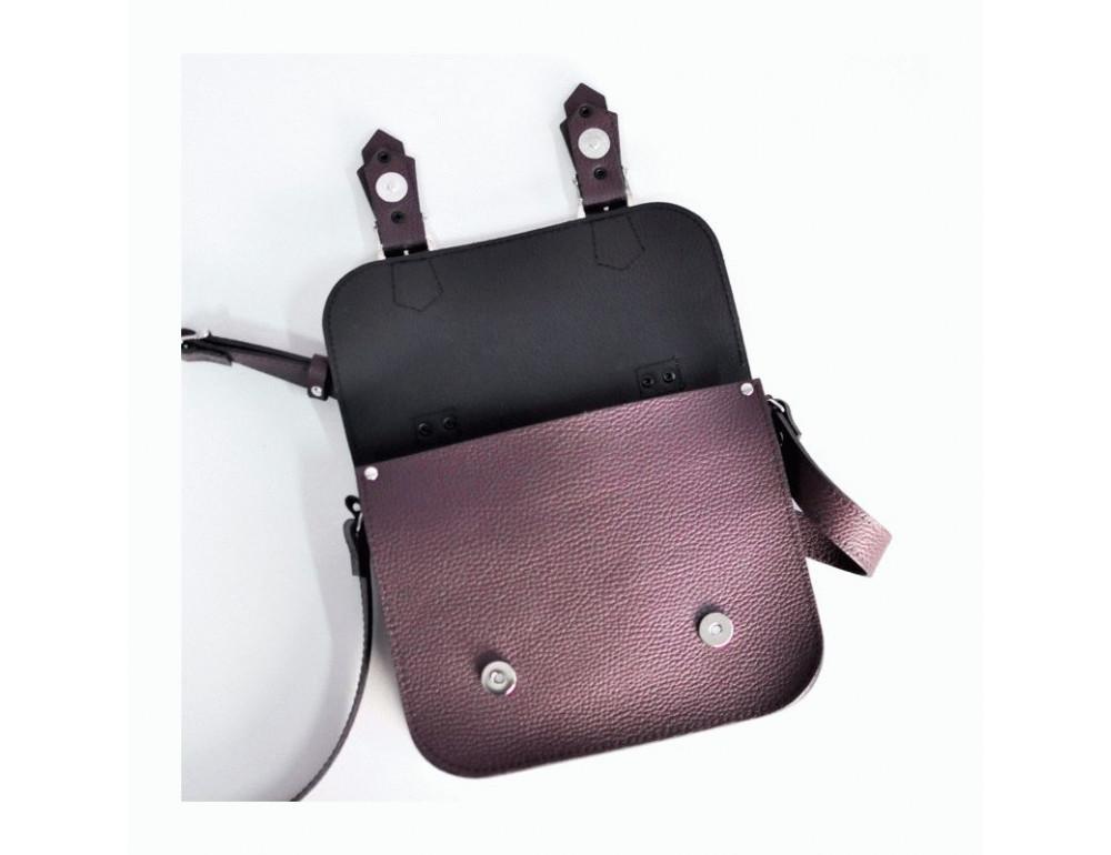 Жіноча шкіряна сумочка JIZUZ SATCHEL MINI S23205GR - Фотографія № 3