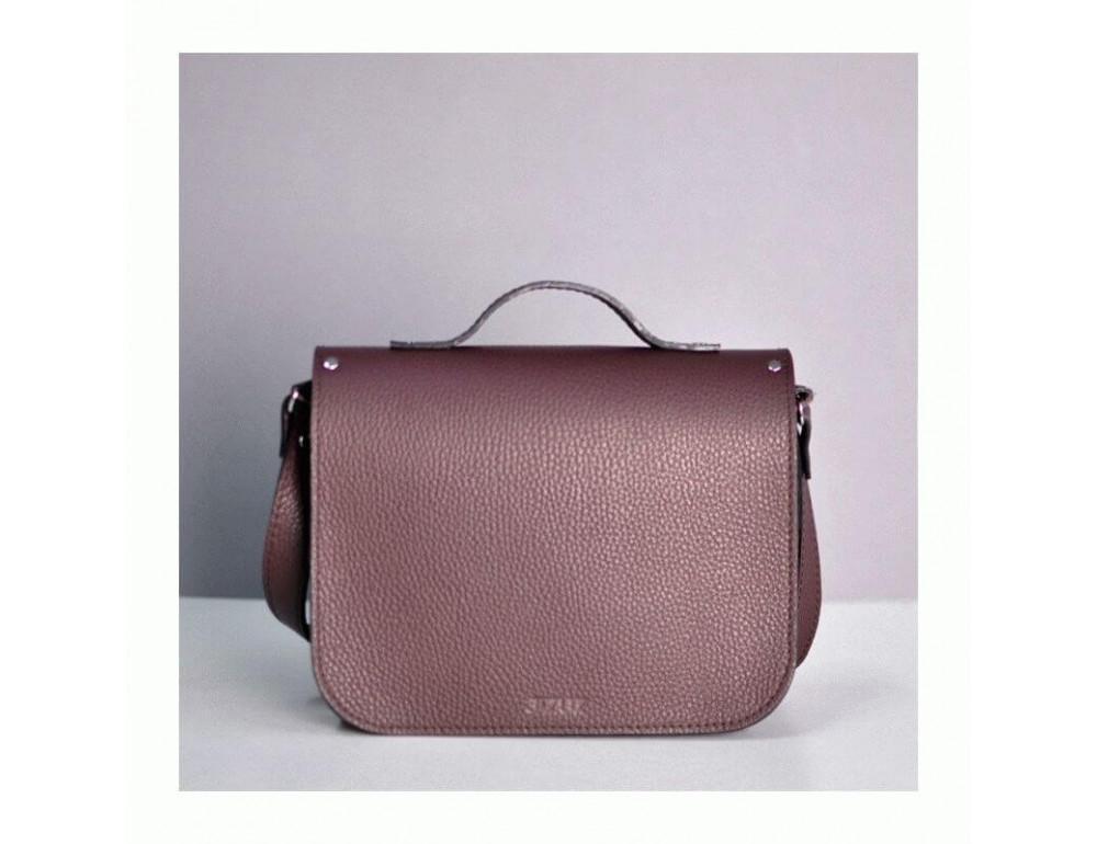 Жіноча шкіряна сумочка JIZUZ SATCHEL MINI S23205GR - Фотографія № 4
