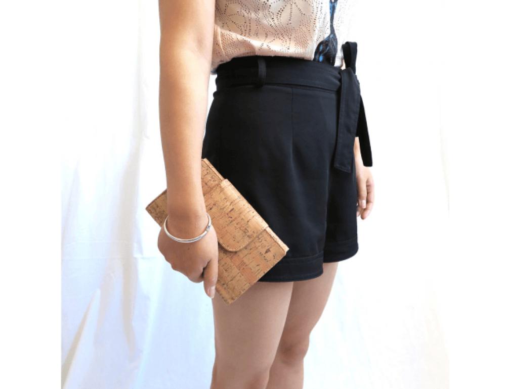 Жіночий гаманець з коркового дерева Mb cork bag-203 - Фотографія № 4