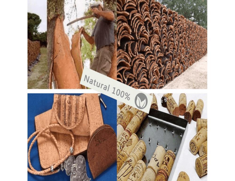 Жіночий гаманець з коркового дерева Mb cork bag-203 - Фотографія № 5