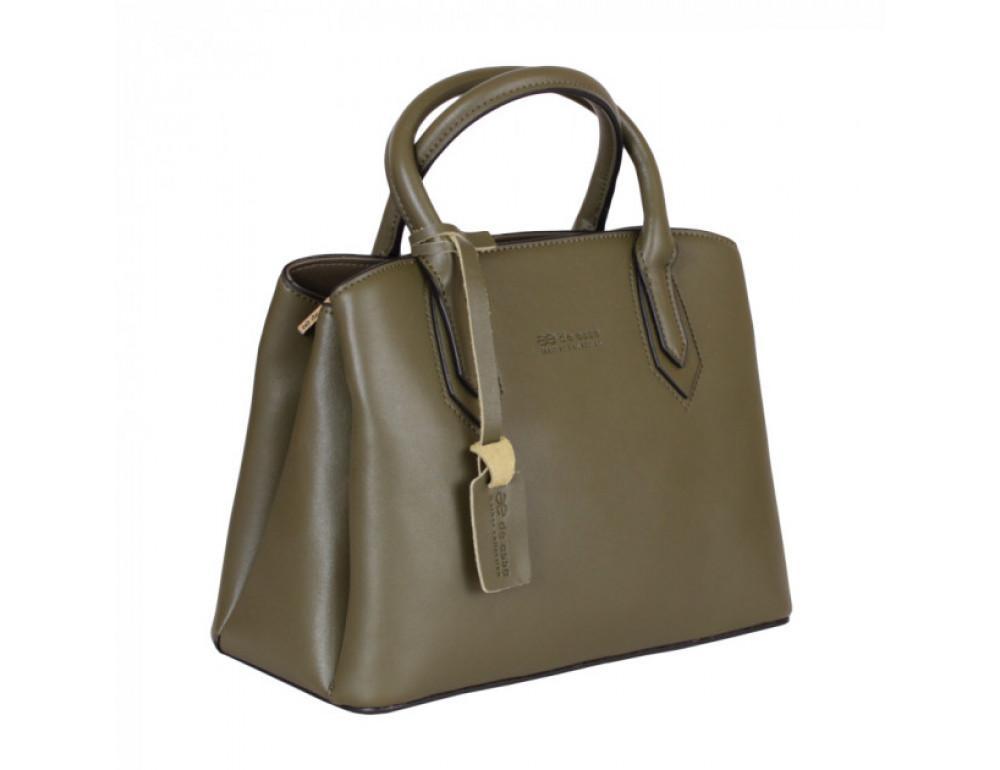 Кожаная сумка de esse L27743GR - Фотографія № 4