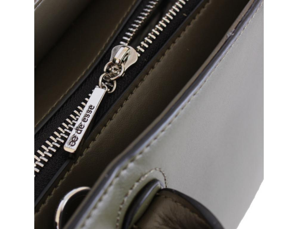 Кожаная сумка de esse L27743GR - Фотографія № 6