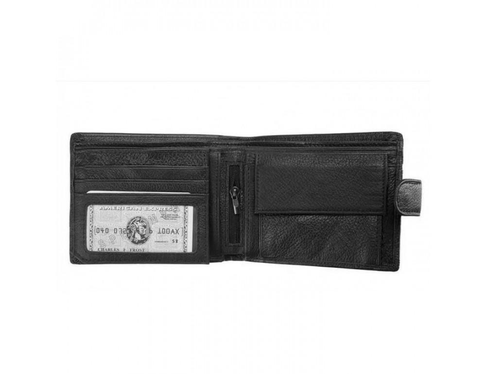 Мужской кожаный кошелёк TIDING BAG A7-0300A - Фото № 3