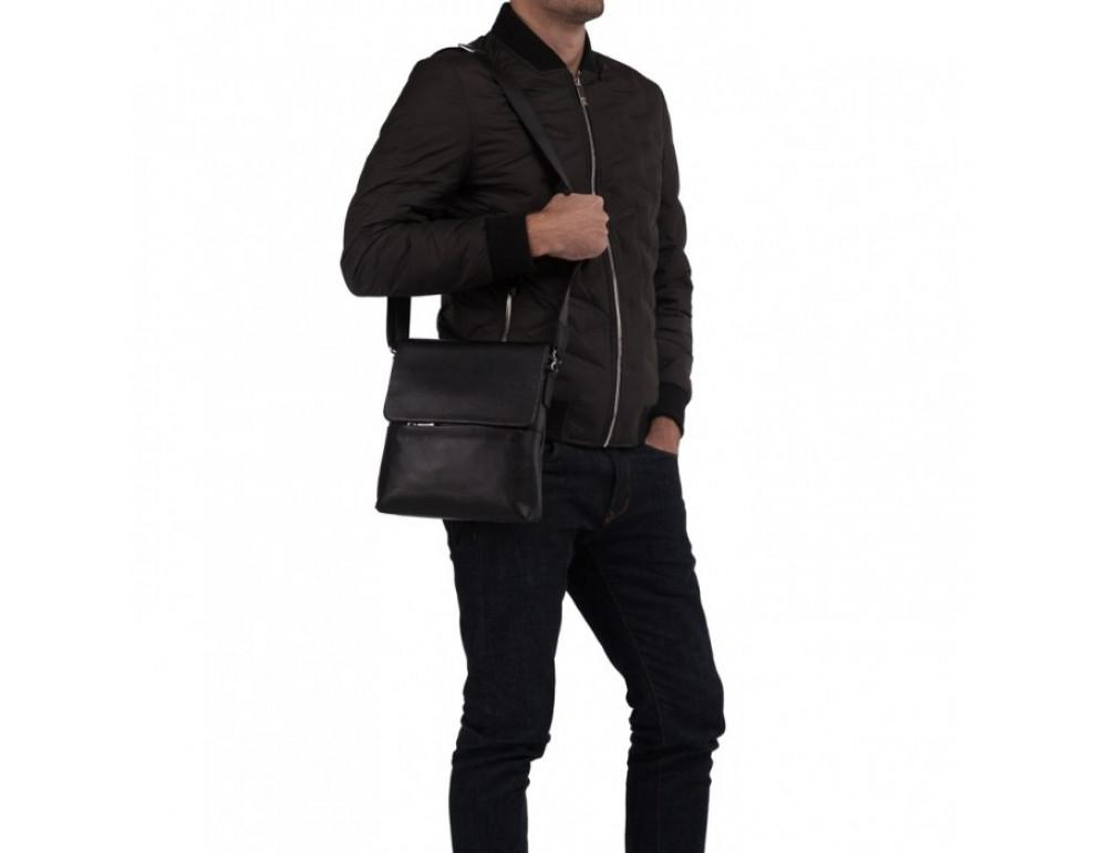 Мужской кожаный мессенджер TIDING BAG M2993A - Фото № 2