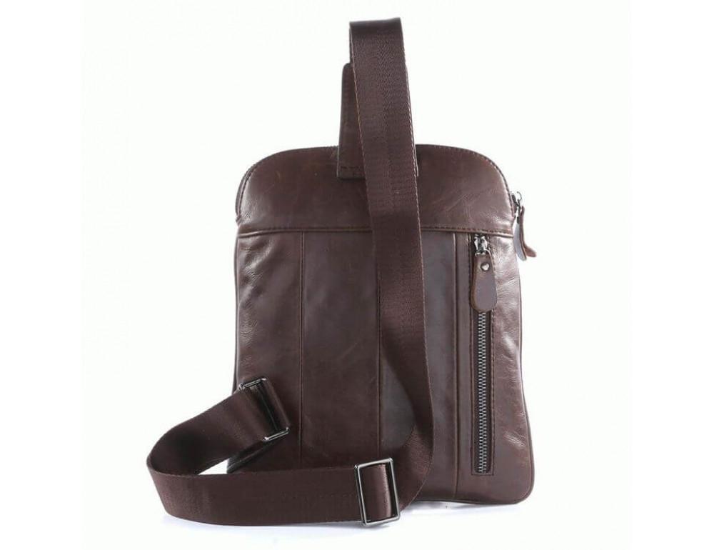 Чоловічий шкіряний рюкзак на одне плече TIDING BAG 7194C - Фотографія № 2
