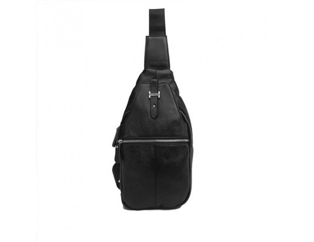 Чоловіча шкіряна сумка рюкзак TIDING BAG M38-8151A - Фотографія № 2