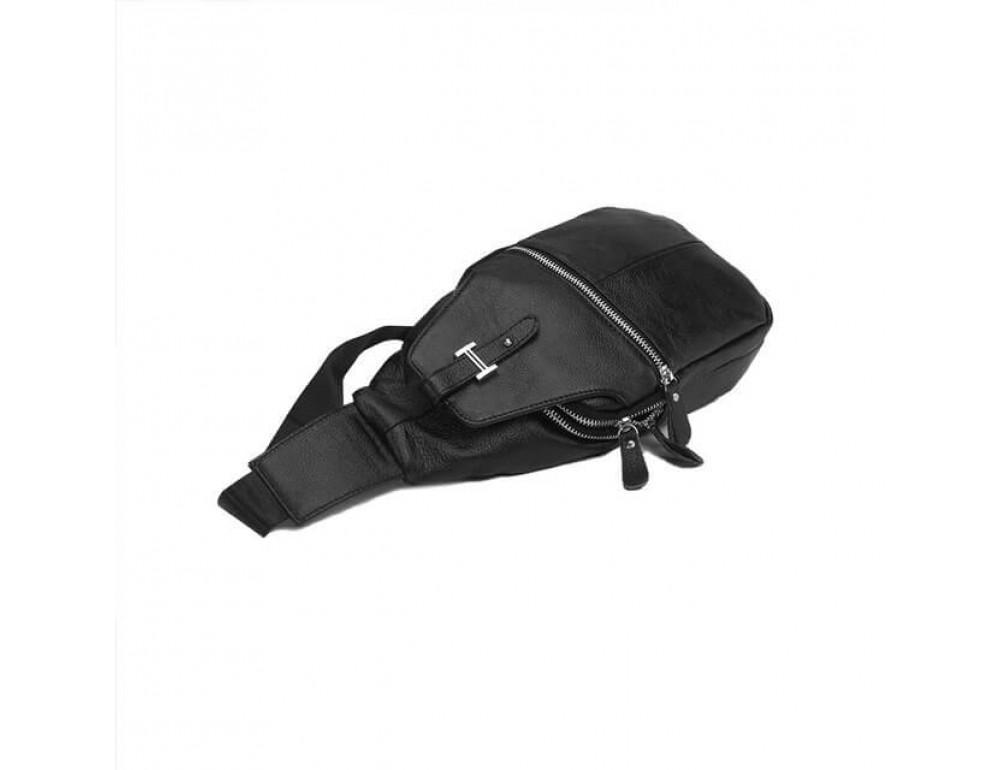 Чоловіча шкіряна сумка рюкзак TIDING BAG M38-8151A - Фотографія № 4