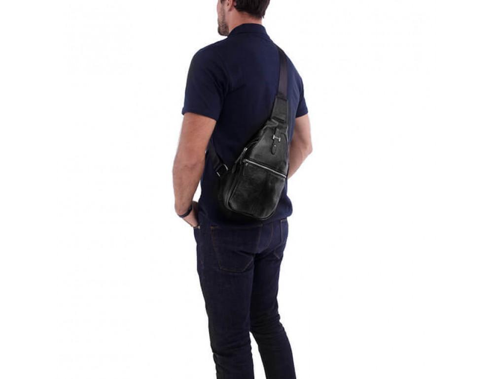 Чоловіча шкіряна сумка рюкзак TIDING BAG M38-8151A - Фотографія № 5