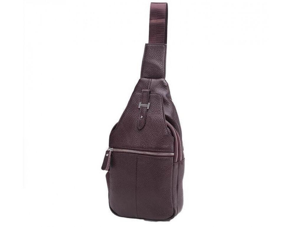 Чоловіча шкіряна сумка рюкзак TIDING BAG M38-8151C