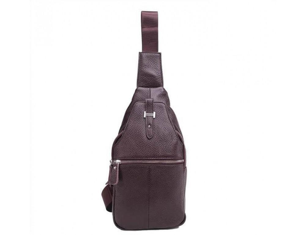 Чоловіча шкіряна сумка рюкзак TIDING BAG M38-8151C - Фотографія № 2
