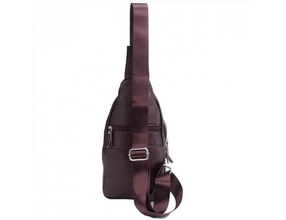Чоловіча шкіряна сумка рюкзак TIDING BAG M38-8151C - Фотографія № 3