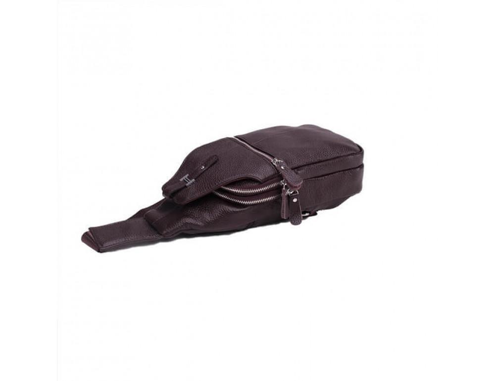 Чоловіча шкіряна сумка рюкзак TIDING BAG M38-8151C - Фотографія № 4