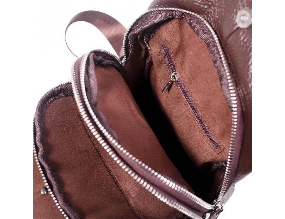 Чоловіча шкіряна сумка рюкзак TIDING BAG M38-8151C - Фотографія № 5