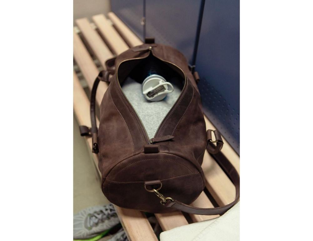 Шкіряна дорожня сумка Blanknote BN-BAG-14-o - Фотографія № 3