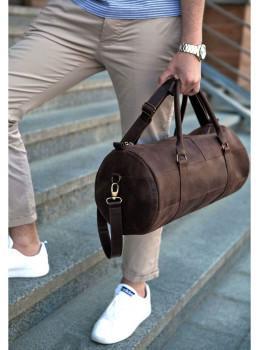 Кожаная дорожная сумка Blanknote BN-BAG-14-o